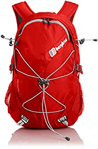 Berghaus Unisex Remote ll 25 Backpack - Extreme Red/Frost Grey, One Size
