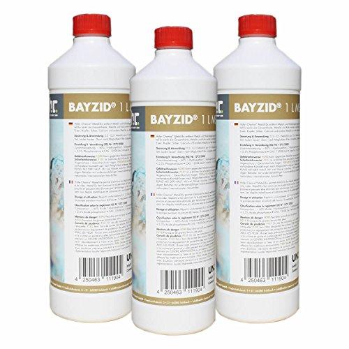 3 x 1 L Metall-Ex 60% für Pools - VERSANDKOSTENFREI - in der handlichen 1 L Flasche