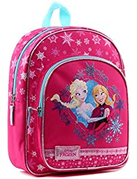 Vadobag Anna & Elsa | Kinder Rucksack | Disney Eiskönigin | Frozen | Rosa | Tasche preisvergleich bei kinderzimmerdekopreise.eu