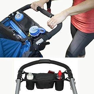 Malloom® Baby Stroller Organizer Baby Carriage Pram Buggy Cart Bottle Bags