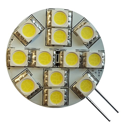 Preisvergleich Produktbild Funkelt und LED G4 T12SF 2 Leds, Kaltweiß, 2er-Set