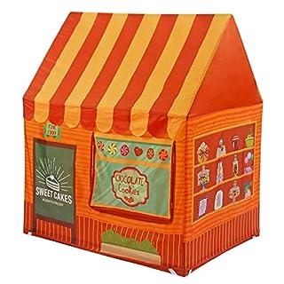 ACTNOW Children's Indoor play house - dessert toy tent play house (orange)
