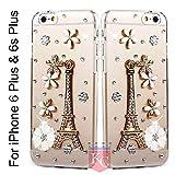 Best Iphone 6 Plus Case Luxuries - KC Luxury 3D Rhinestones Crystal Diamond Deluxe Handmade Review