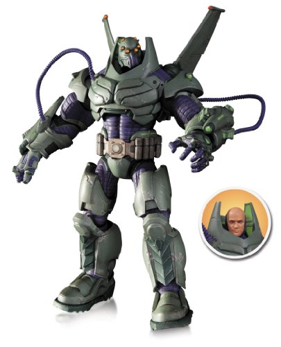 DC Comics Super Villains Armored Lex Luthor Figura de Acción