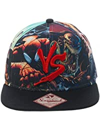 Marvel Multi Character Good vs. Evil Snapback Baseball Cap