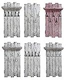 Garderobe nach Wunsch (WUNSCHBREITE & WUNSCHFARBE & vieles mehr möglich) rustikal Landhaus Stil SHaBBy CHic ViNTaGe Holz (alternativ: Gaderobe, Gardrobe)