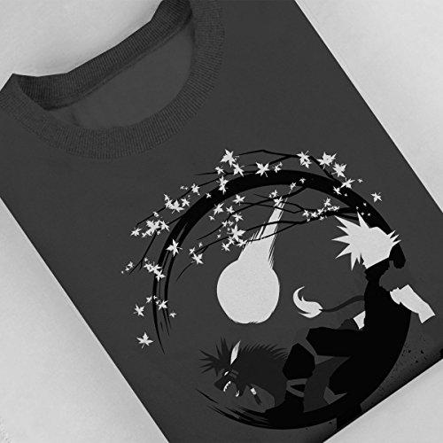 Final Fantasy Circle Fantasy Women's Sweatshirt Anthracite