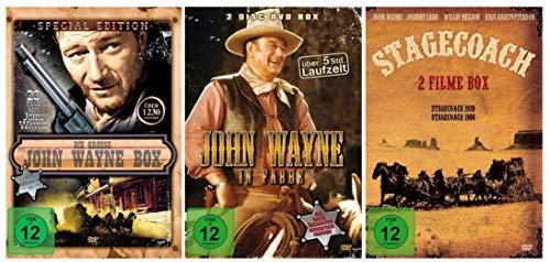 Die große John Wayne Western Collection - 27 Filme [7 DVDs] - Western John Wayne Collection