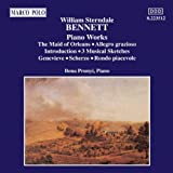 Piano Works Vol. 1, Maid of Orleans (Prunyi) by William Sterndale Bennett (2006-08-01)