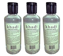 Khadi Pure Rse water 630ml- pack of 3 pcs