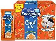 Nestlé Everyday Chai Life Desi Masala Instant Tea Premix, 160g (Pack of 10)