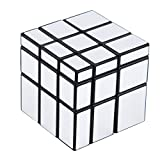 #9: BabyGo 3x3 Silver Mirror Cube for kids