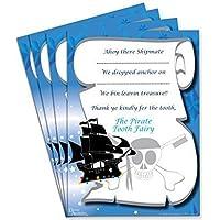 Pirata Hada De Los Dientes Certificados (Juego de 4) Ideal para Niños