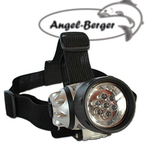 Angel Berger LED Stirnlampe Kopflampe Stirnleuchte