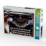 Alte Schreibmaschine 1000 Teile Puzzle Quer