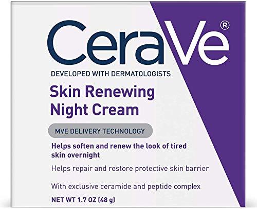 CeraVe Renewing System, Skin Renewing Night Cream, 1.7 Ounce