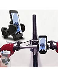 iTALKonline Apple iPod Touch 5th Generation (5G) Black 360 Degree Rotation Case Compatible Bicycle Cycle Bike Handle Bar Holder Support Cradle