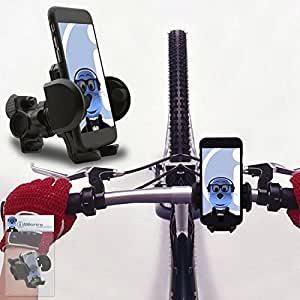 iTALKonline LG GS290 Cookie Fresh Black 360 Degree Rotation Case Compatible Bicycle Cycle Bike Handle Bar Holder Support Cradle