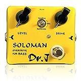 DR.J D52 Soloman Bass Overdrive Pédale d\'effets pour guitare