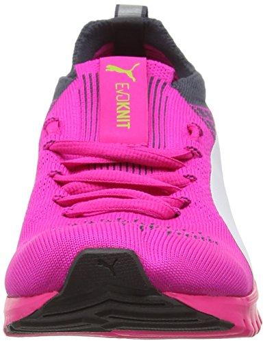 Puma Igndualproknitwf6, Scarpe Sportive Indoor Donna Rosa (Pink/Blue/Wh 02)