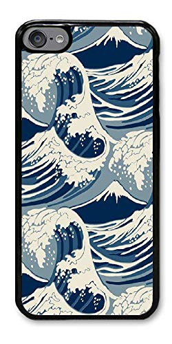 sanlianwangluokeji Custom Gifts ipod Touch 6 Case - Wave Pattern Hard Plastic Phone Cell Case for ipod Touch 6 Custom Ipod Cases