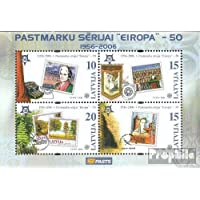 Prophila Collection Letonia Bloque 21 (Completa.edición.) 2006 Europa (Sellos para los coleccionistas)