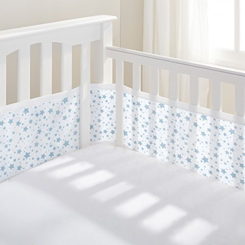 Luftdurchlässiges Babynest, Blaue Sterne