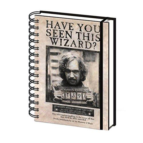 "Preisvergleich Produktbild Harry Potter ""Wanted Sirius Black"" A5 Notebook"