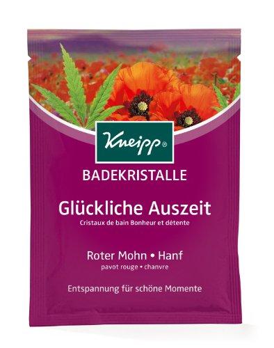 Kneipp - Sales de baño de amapola cáñamo - bolsas de 60 g - lote 12