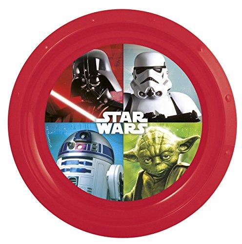 Image of Plastic Plate - Star Wars