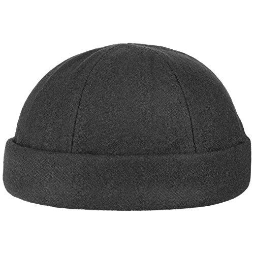 Lipodo Port Dockercap Uomo (berretto da scaricatore) in nero  704fc0971f3d