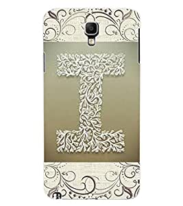 "ColourCraft Alphabet ""I"" Design Back Case Cover for SAMSUNG GALAXY NOTE 3 NEO DUOS N7502"
