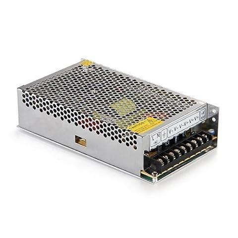 SODIAL (R) LED elektronischer Transformator Niederspannungstrafo 300W 12V 25A 220V AC Schaltnetzteil