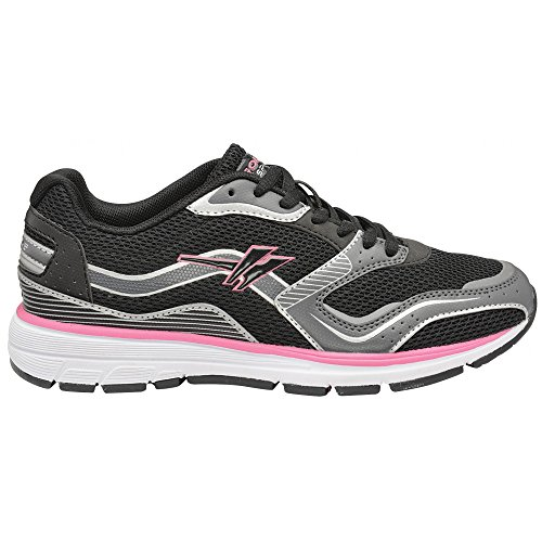 Gola Active LT-Speed Damen Fitness Sneakers Black/Silver/Pink