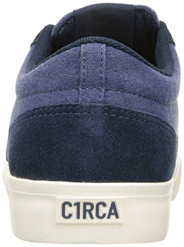 C1RCA Mens Hesh 2.0 Durable Lightweight Insole Skate Skateboarding Shoe Dress Blues/Off White