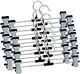 #4: Sajani Premium Quality Steel Cloth Hangers - Set of 12