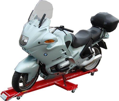 TrutzHolm® Motorrad Rangierhilfe Motorradständer Motorradheber Rollwagen 567 kg
