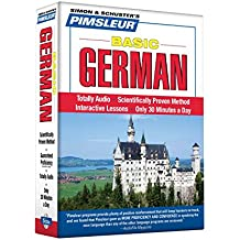 Pimsleur German Basic Course - Level 1 Lessons 1-10 CD: Lessons 1-10 Level 1: Learn to Speak and Understand German with Pimsleur Language Programs