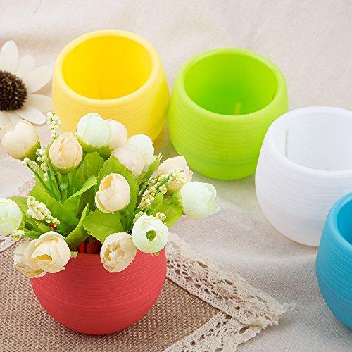 Vaso da fiori Yoo 5PCS Fashionayooble contenitore nave utensili domestici