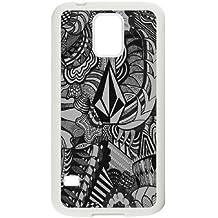 Samsung Galaxy S5 Cell Phone Case White Volcom Brand Logo Custom Case Cover QW8I544602