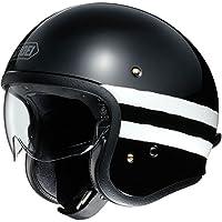 Shoei J.O Sequel Open Face Motorcycle Helmet S Black (TC-5)