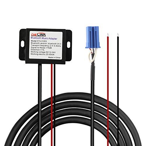 Eximtrade Mini ISO Stecker zu Bluetooth Kabel CSR Chipsatz Audio Musik MP3 für Smart 450 (alle Modelle)