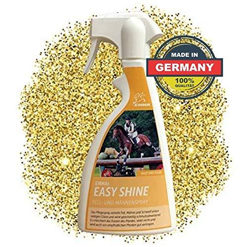 EMMA ⭐ Mähnenspray für Pferde I Schweifspray I Pferdepflege Fellpflege I Premium Pferde Zubehör I Top Glanzspray 500 ml