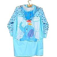 HUPLUE Kids Rain Coat Children Raincoat Rainwear/Rainsuit,Kids Waterproof Animal Raincoat
