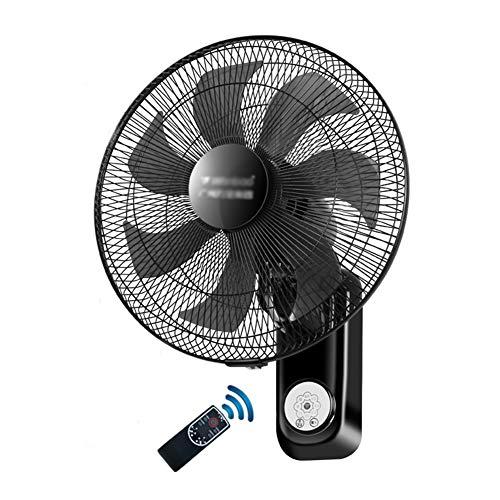 Ventilador de pared Ventilador eléctrico hogar/Control Remoto mecánico/Restaurante Industrial silencioso Ventilador de...