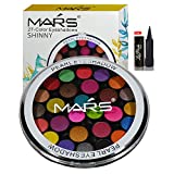 #8: Mars 27 color Eyeshadow With Laperla Kajal