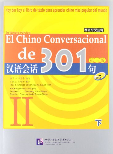 El chino conversacional de 301 vol.2 (Spanish Language)
