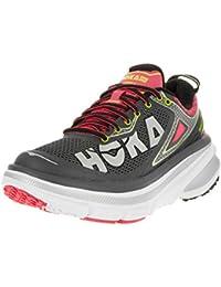 HOKA ONE ONE BONDI 4 GRISE ET ROSE Chaussures de running femme