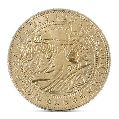 10 - Exing coleccionistas Monedas Moneda, Imitation Antiguas Monedas de Oro Moneda Conmemorativa antigüedad piratería. Artesanía Home Decor