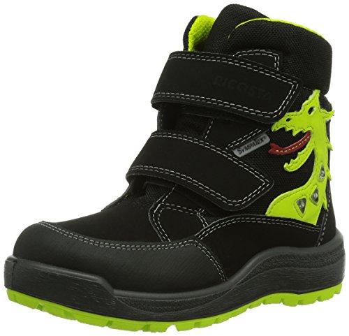 Ricosta Grisu, Chaussures Bateau Garçon Nero (Schwarz (schwarz 097))